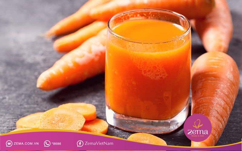 Cà rốt giúp giảm cân an toàn, hiệu quả