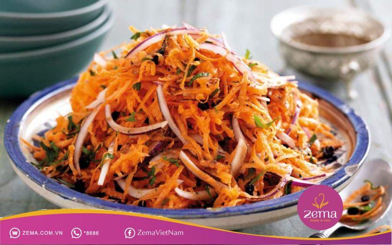 Salad cà rốt giúp giảm cân nhanh và ngon miệng
