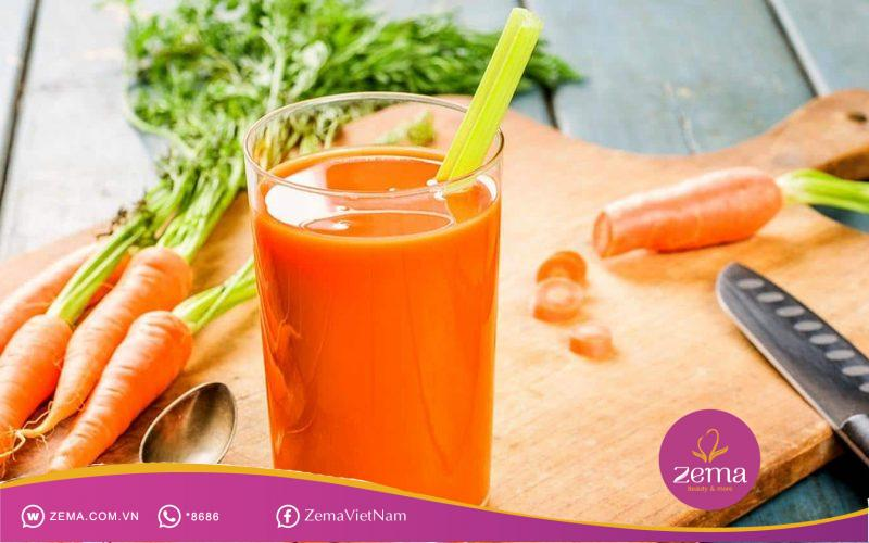 Cách giảm cân bằng cà rốt đơn giản dễ thực hiện