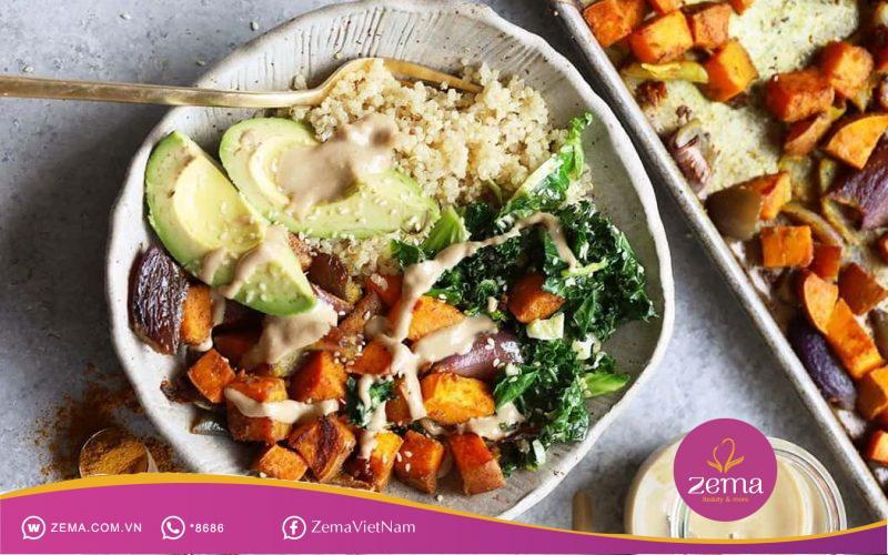 Lên thực đơn ăn chay để dễ kiểm soát hiệu quả giảm cân