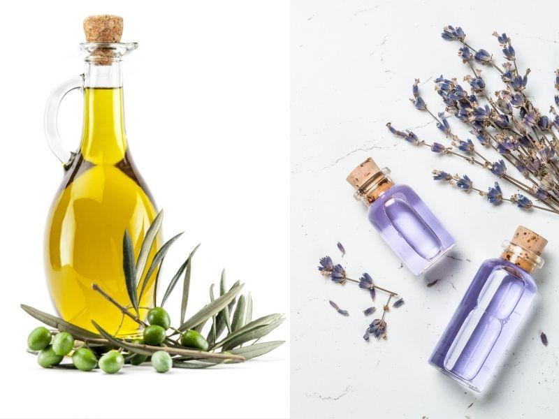 Kết hợp oliu và oải hương có thể khắc phục tình trạng mụn