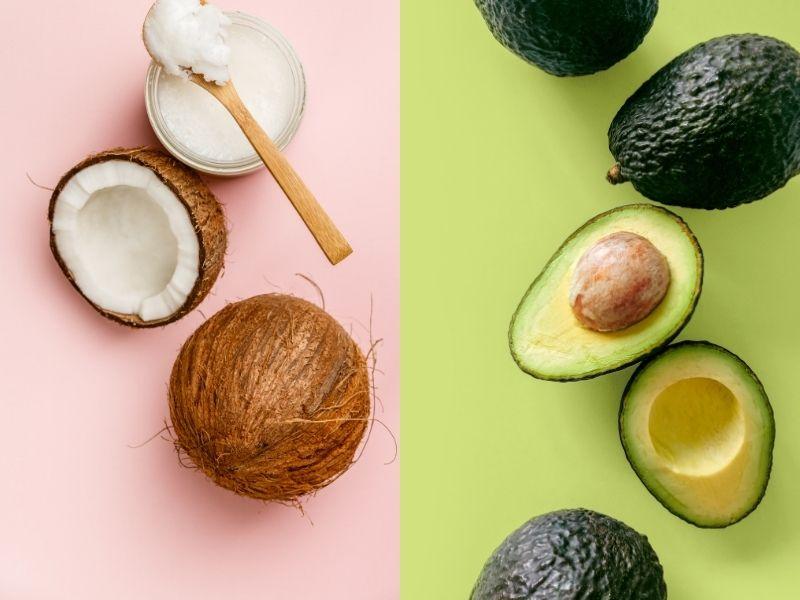 Bơ và dầu dừa là tạo ra mặt nạ ủ tóc siêu hoàn hảo