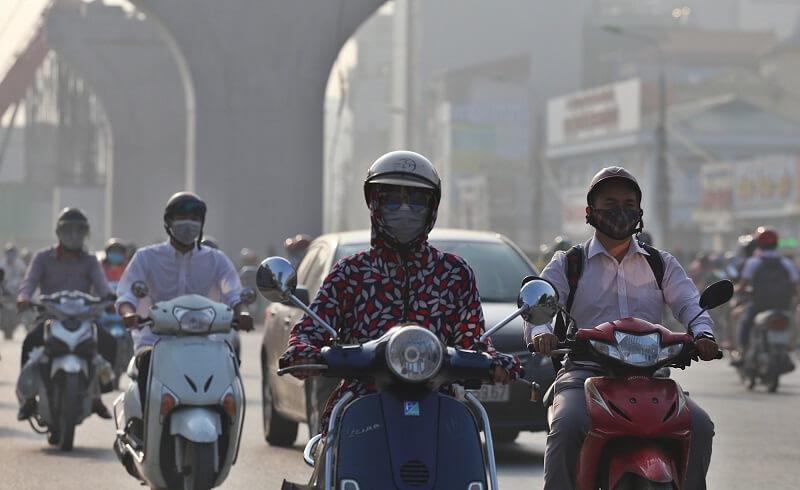 Môi trường không khí ô nhiễm là nguyên nhân phổ biến gây ra mụn