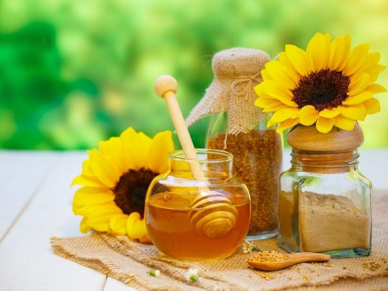 Mật ong cũng có thể làm nguyên liệu chữa sẹo mụn