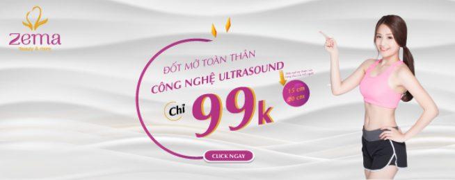 Giảm mỡ bằng công nghệ Ultrasound 99k