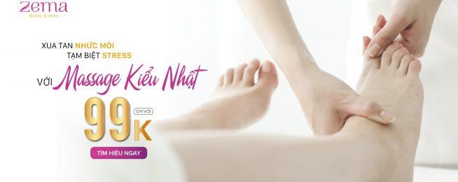 Massage Tay Chân Đồng Giá 99K