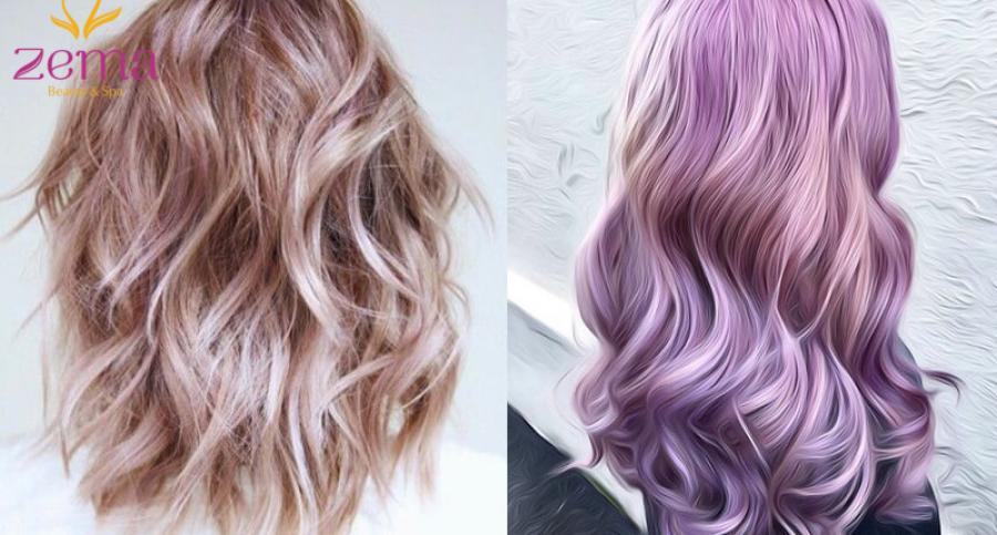 Nhuộm phủ bóng tóc – phương pháp đem lại mái tóc bóng mượt trong tích tắc