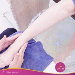 Bước 3: Massage sữa.