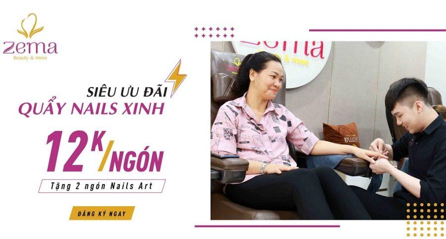 Trở thành cô gái thời thượng với Nails sơn gel tại Zema Việt Nam